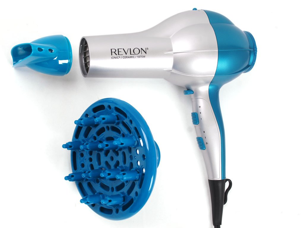 Revlon Perfect Heat Pro Stylist Shine Booster Hair Dryer 1 ea RV484F