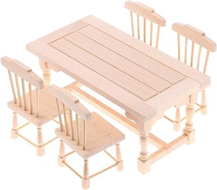 MagiDeal 1//12 Miniature Dollhouse Tableware Dishes Set Furniture Toys Decor