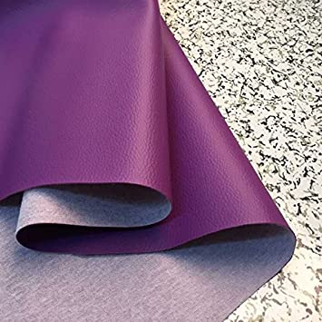 Purple Thin Lychee Skin Embossed Fake Leather Fabric for Home Decor Furniture Upholstery Applicationpurple & Amazon.com: Purple Thin Lychee Skin Embossed Fake Leather Fabric for ...