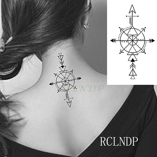 tzxdbh 7pcs-Impermeable Etiqueta engomada del Tatuaje Temporal ...