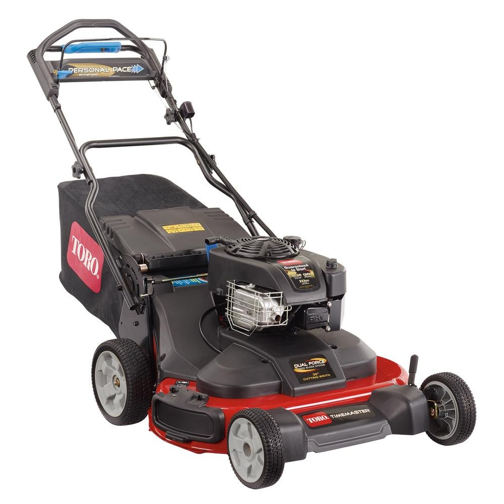 best self-propelled walk behind mower - Toro