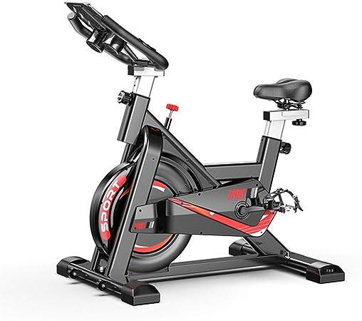 Lwieui Bicicleta de Spinning Bicicleta de Spinning de Interior casero Silenciar aplicación de Juego de Bicicleta de Ejercicios Fitness Equipment Bicicleta estática Bicicletas de Ejercicio: Amazon.es: Hogar