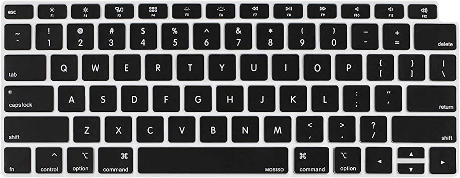 Dust-Proof Keyboard Cover for Newest MacBook Air 13 Inch Retina Display/&Touch ID