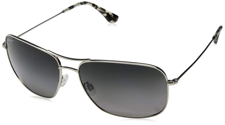 Polarized Lenses Maui Jim Sunglasses Aviator Frame with Patented PolarizedPlus2 Lens Technology Breezeway 773