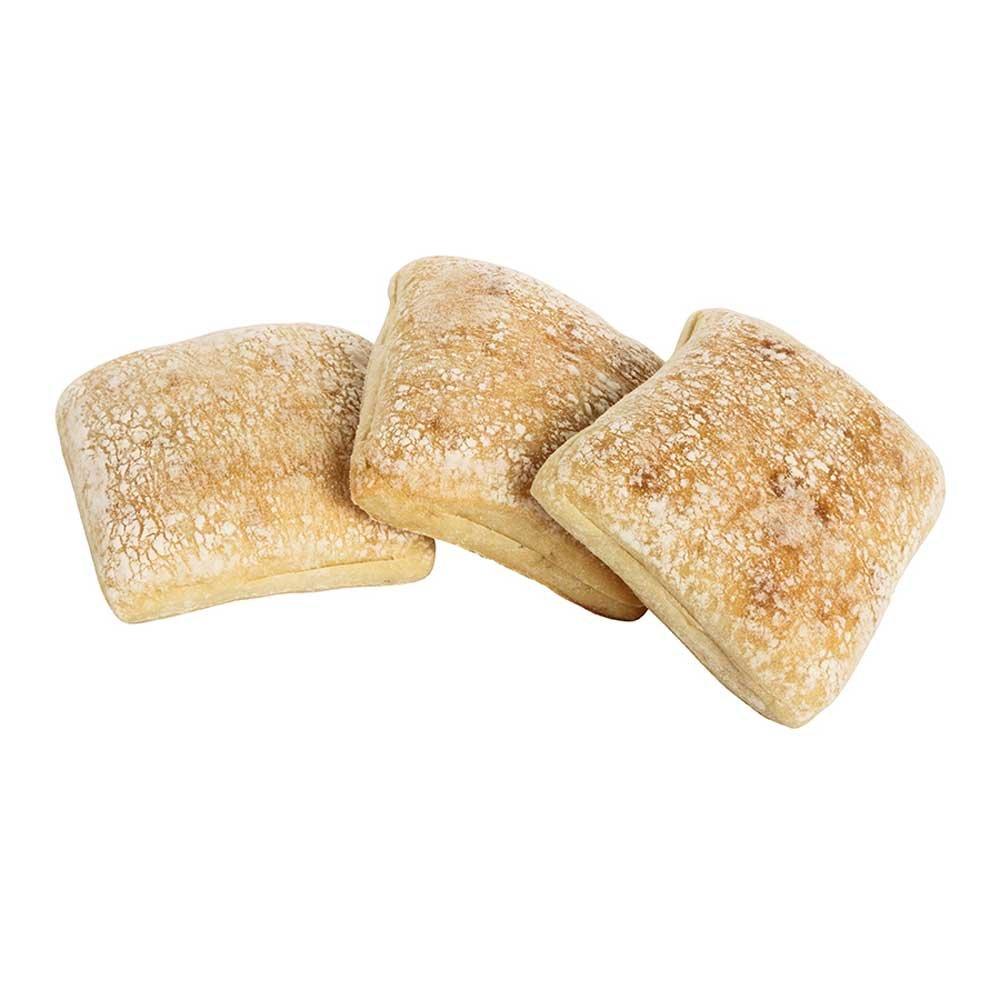Labrea Bakery La Baccia Square Sandwich Roll, 2.7 Ounce - 48 per case.