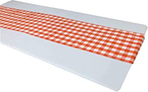 New Star Fabrics Buffalo Plaid Checkered Table Runner | Polyester | Premium Buffalo Gingham Check Decorative Table Runner | Perfect for Home Kitchen,Family Dinner, Farmhouse Décor, Parties and Events