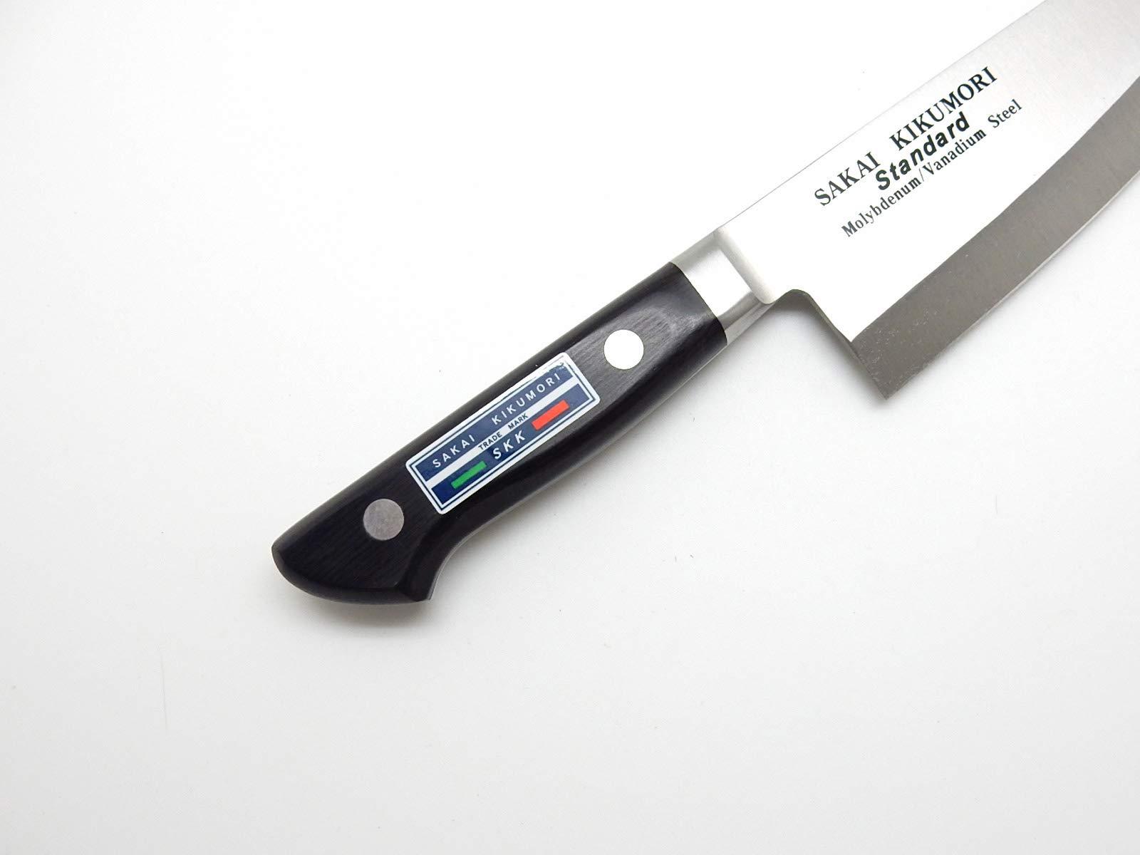 SAKAI KIKUMORI Standard Molybdenum/Vanadium Steel, Japanese Deba Knife 165mm/6.5'' by SAKAI KIKUMORI (Image #4)