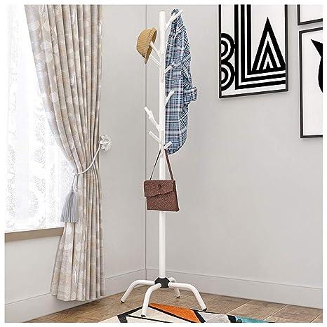NIUZIMU Perchero, Metal Hall Tree Coat, Modern Simple Stand ...
