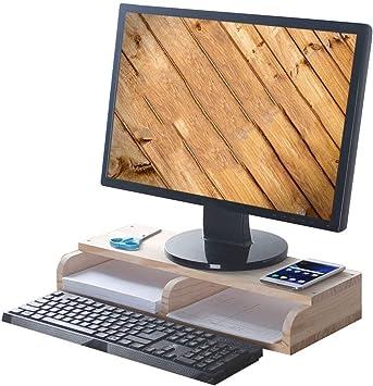 Soporte De Monitor Levantador, Base De Computadora Aumento De ...