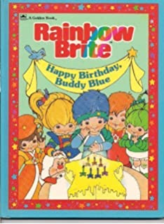 Rainbow Brite Happy Birthday Buddy Blue