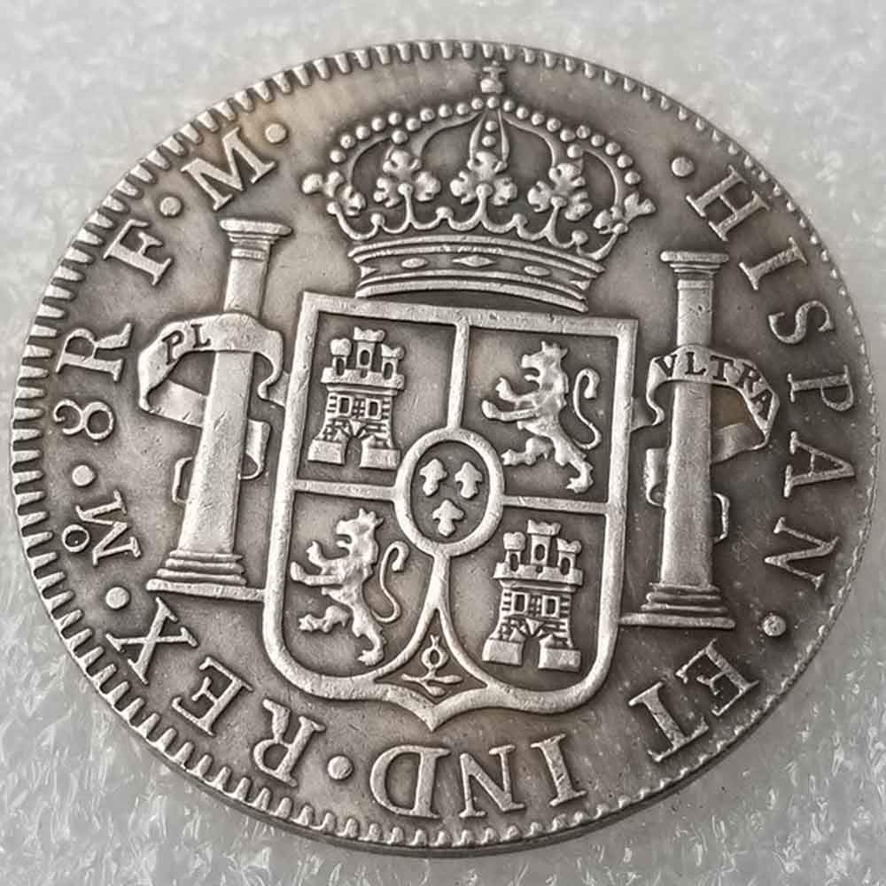 OppoLing 1793 Scottish 5 shillings Old Coin United Kingdom Old Coins-Lucky Commemorative Coin-Teaching Tool for Kids-It is Handmade Crafts Best Product