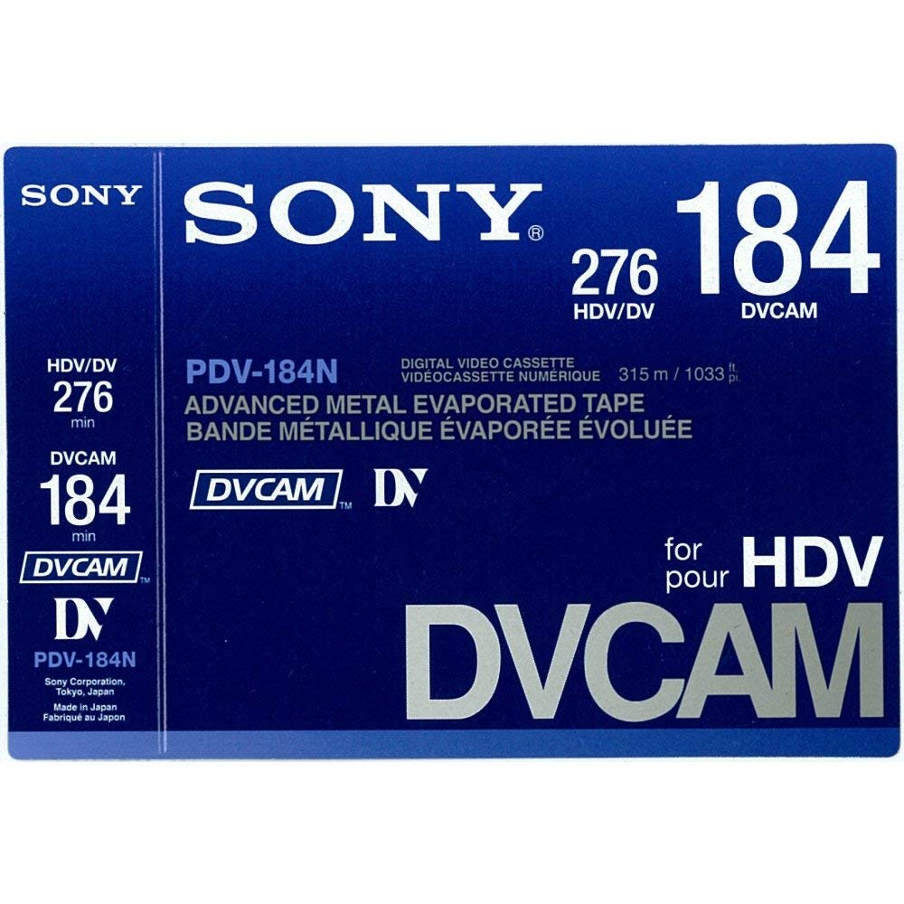 Sony PDV184N DVCAM 184 Minute Tape by Sony