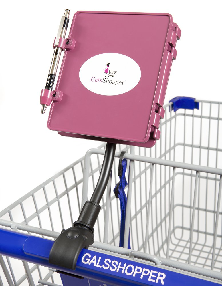 All In 1 Shopping Organizer 1 Clip On Any Shopping Cart GalsShopper Pink