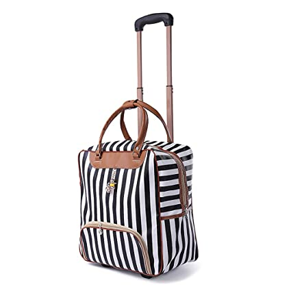 3cb5b1173b19 Amazon.com: Minmin-lgx Design Pattern Carry On Bag Wheeled Cabin ...