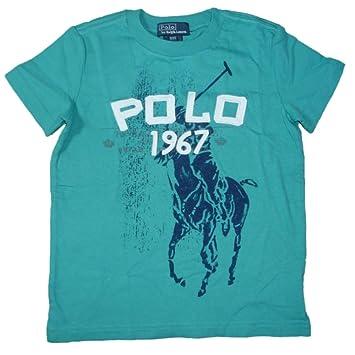 Ralph Lauren Niños Camiseta de polo Jinete Big Pony Print Joven ...