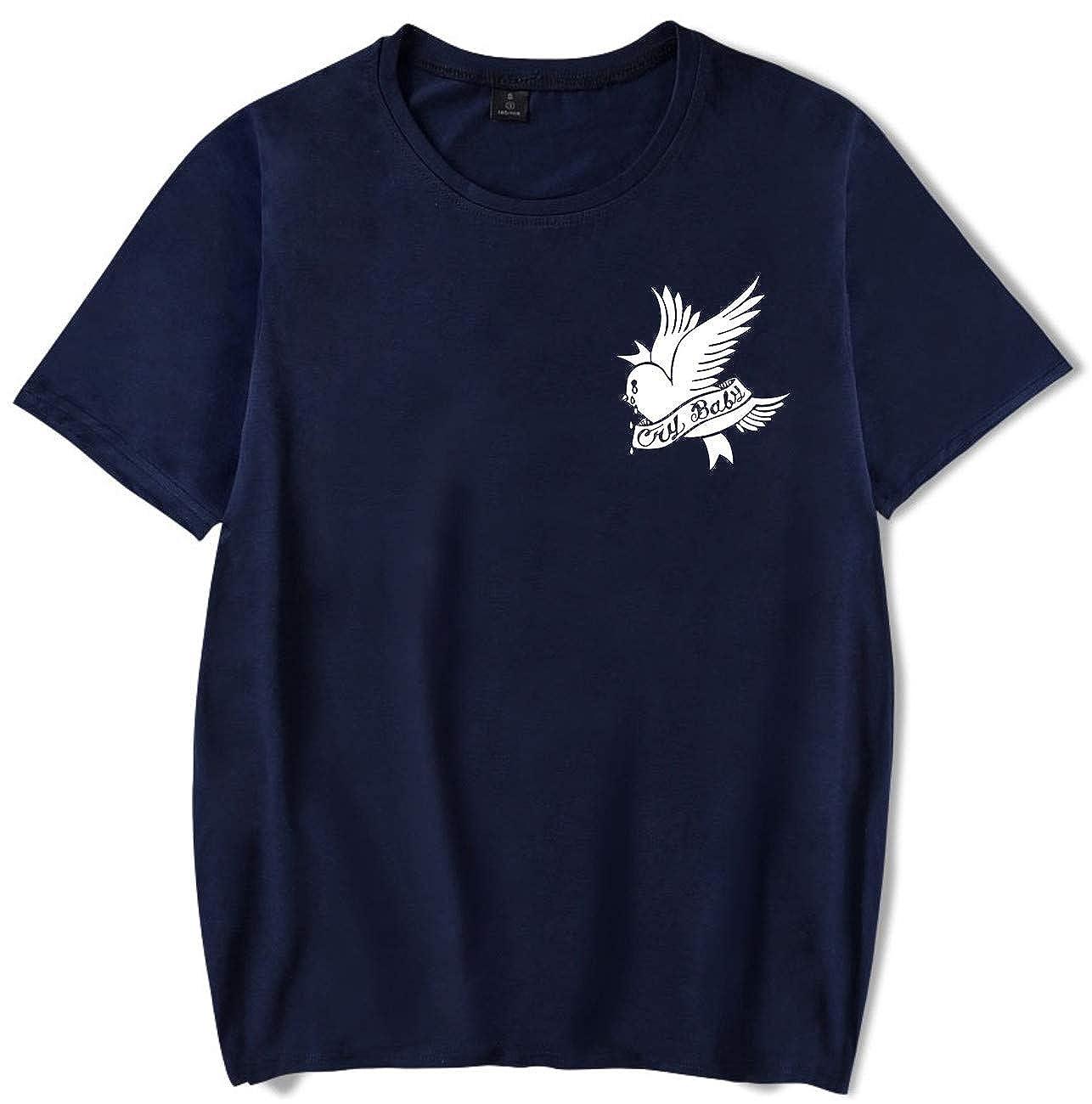 SERAPHY Camiseta Unisex R.I.P Lil Peep Cry Baby Rapper Hip Hop Spring Camiseta para Hombre Harajuku Casual Camiseta: Amazon.es: Ropa y accesorios