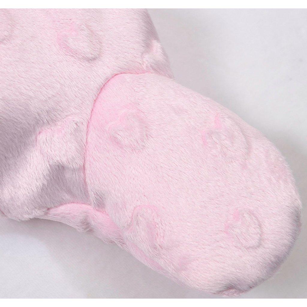 JiAmy Baby Winter Hooded Romper Pram Snowsuit Fleece Jumpsuit Infant One-Piece Outfits