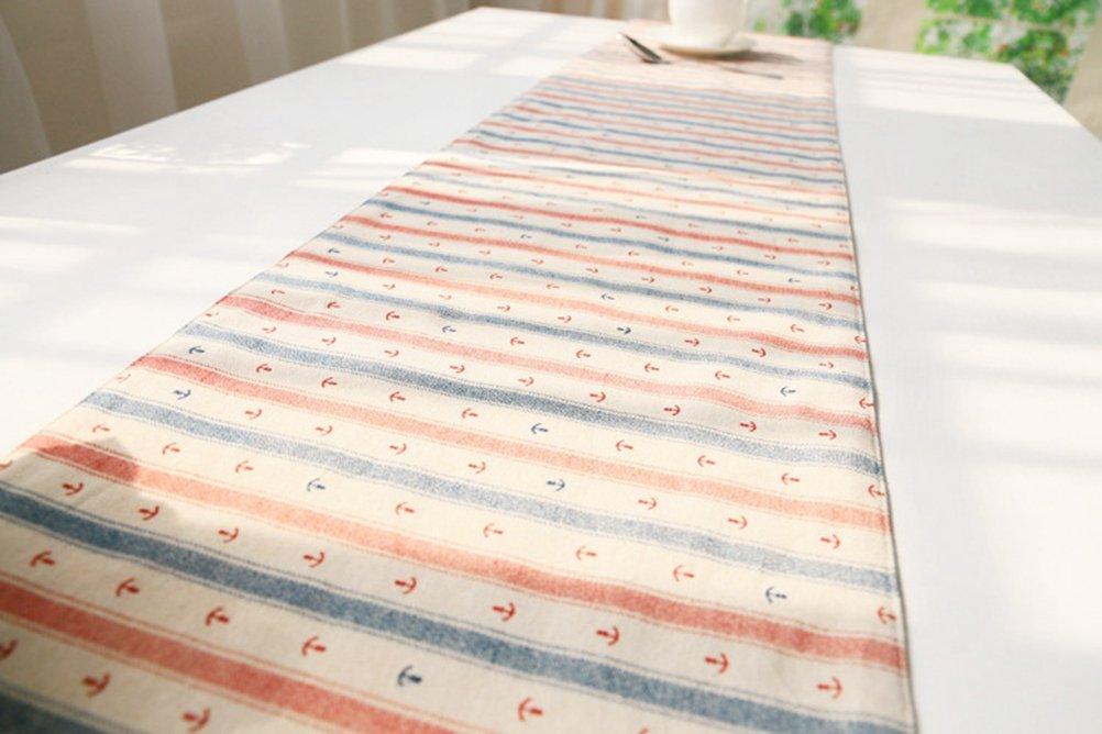 KESS InHouse Sreetama Ray Aqua Cool Paint Table Runner 16 x 180