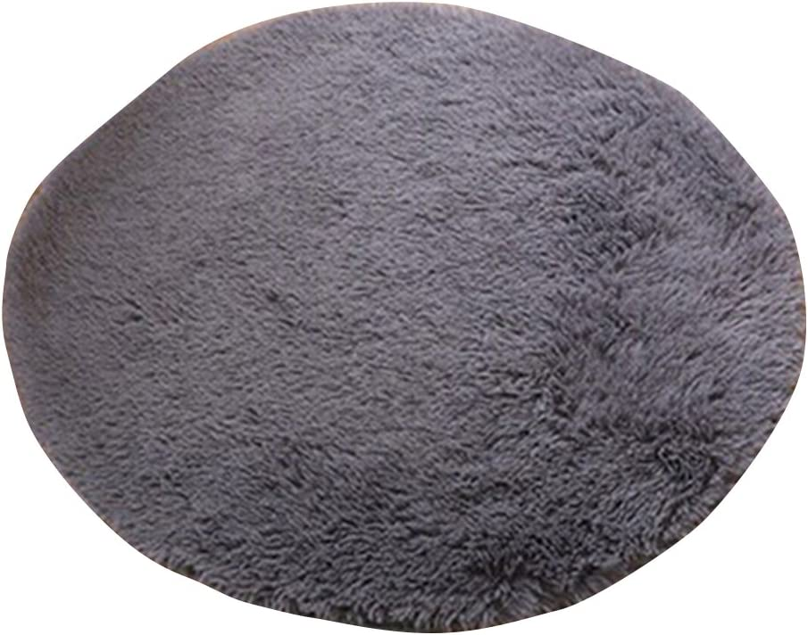Yamalans Home Decor Soft Bath Bedroom Non-slip Floor Shower Rug Yoga Plush Round Mat