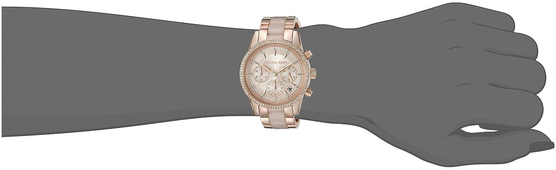 e5eee2578827 Amazon.com  Michael Kors Women s Ritz Rose Gold-Tone Watch MK6307  Michael  Kors  Watches