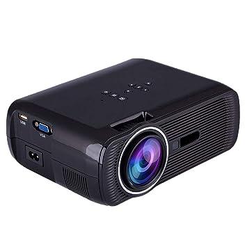 PFMY.DG Mini proyector Inteligente, 2000 lúmenes 1080P Full ...