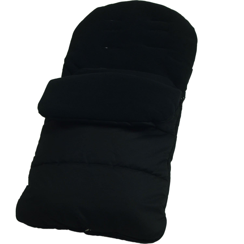 Saco//Cosy Toes Compatible con Britax paseo negro Jack