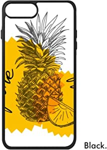 Yellow Pineapple Drawing Fruit for iPhone 7/7 Plus 8/8 Plus Case Cover