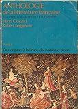 Anthologie de la Littérature Française, , 019501877X