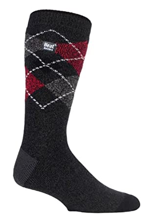 ce194e31f2fe3 Heat Holders Lite - Mens Winter Warm 1.6 TOG Thermal Casual Socks 6-11 UK