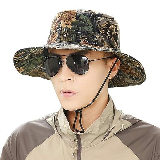 YJLGRYF Viseras Sombrero de Sol para Hombre Gorra para el Sol ...
