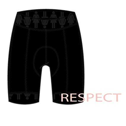 Shebeest 2018 Women s Triple S Ultimo Respect Cycling Shorts - 3047  (Respect-Black - 73b27ecd6