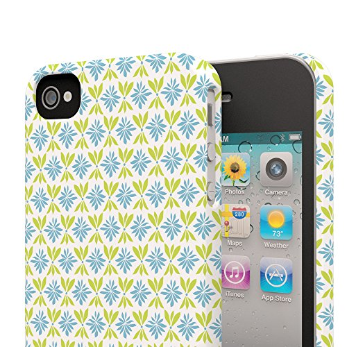 Koveru Back Cover Case for Apple iPhone 4/4S - Melamine design