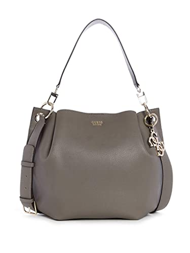 ed6ab5710b Guess Sac à Main Seau Femme Vg685303 Digital Gris Taupe: Amazon.fr ...