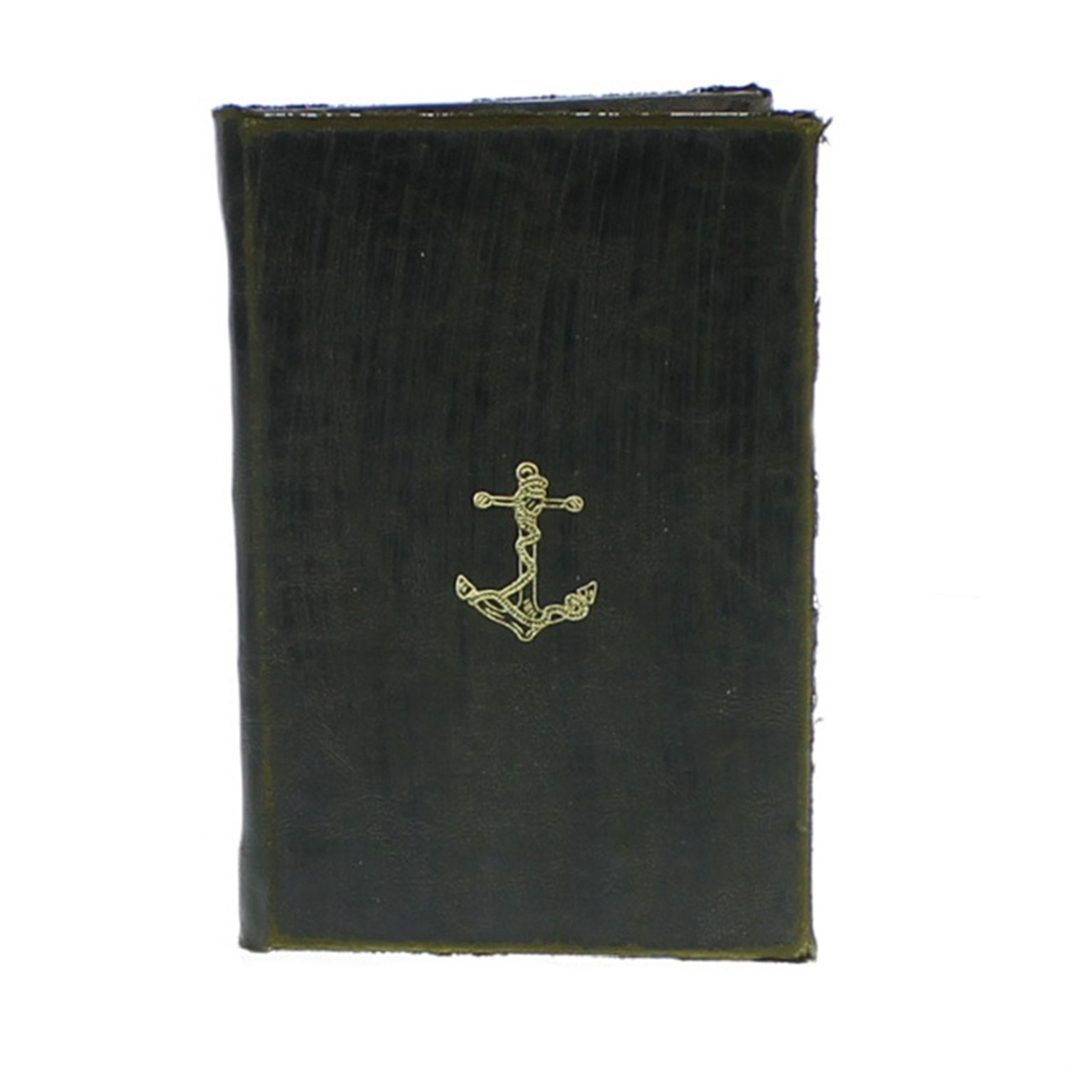 HomArt Maritime Embossed Journal - Anchor (Black) (Set of 12)