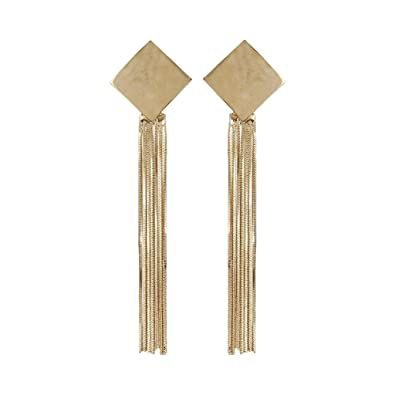 product designs cos long strand vermeil chain earrings gold k multi of gab shop image