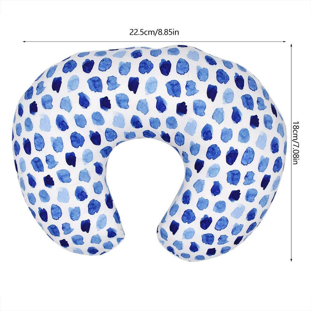 Purple Flower Breastfeeding U-Shaped Pillow Soft Flexible Nursing Pillow for Babies Nursing Baby Lounger