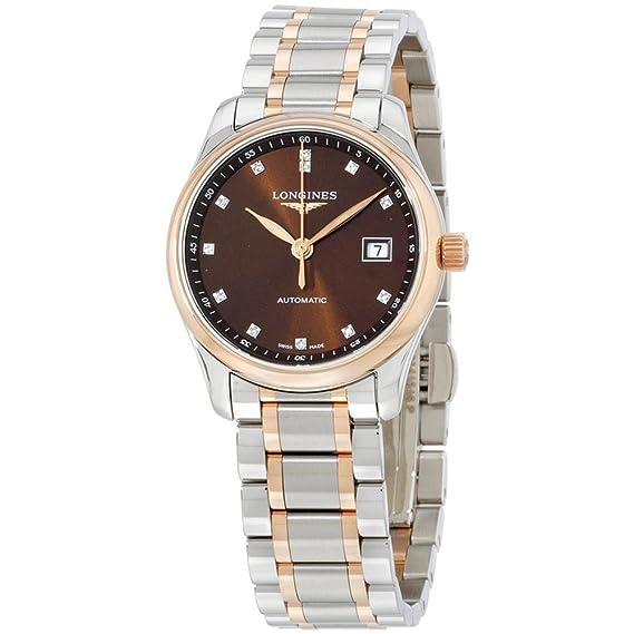 Longines Reloj de mujer automático 29mm correa de acero caja de L22575677