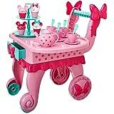 Amazon Com 23 Piece Tea Time Trolley Set Toys Amp Games