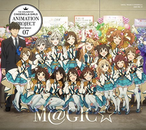 THE IDOLM@STER CINDERELLA GIRLS ANIMATION PROJECT 2ND SESON 07 M@GIC(+BLU-RAY)(ltd.) by Cinderella Project