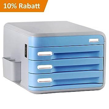 Schreibtisch Organizer Evertop A4 Schubladenbox Systembox