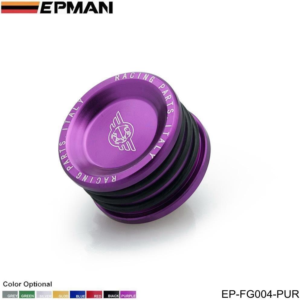 EPMAN Engine Billet Cam Camshaft Seal Plug For B16 B18 B20 H22 H23 F20 Engine (Purple) RUIAN EP INTERNATIONAL TRADE CO. LTD
