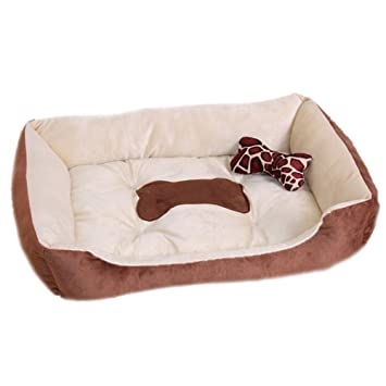 Espeedy Colchón para mascotas,Camas para gatos para perros Mat Mattress House Warm Soft Microvelvet Puppy Pets Basket para bebés 4 tamaños: Amazon.es: Hogar