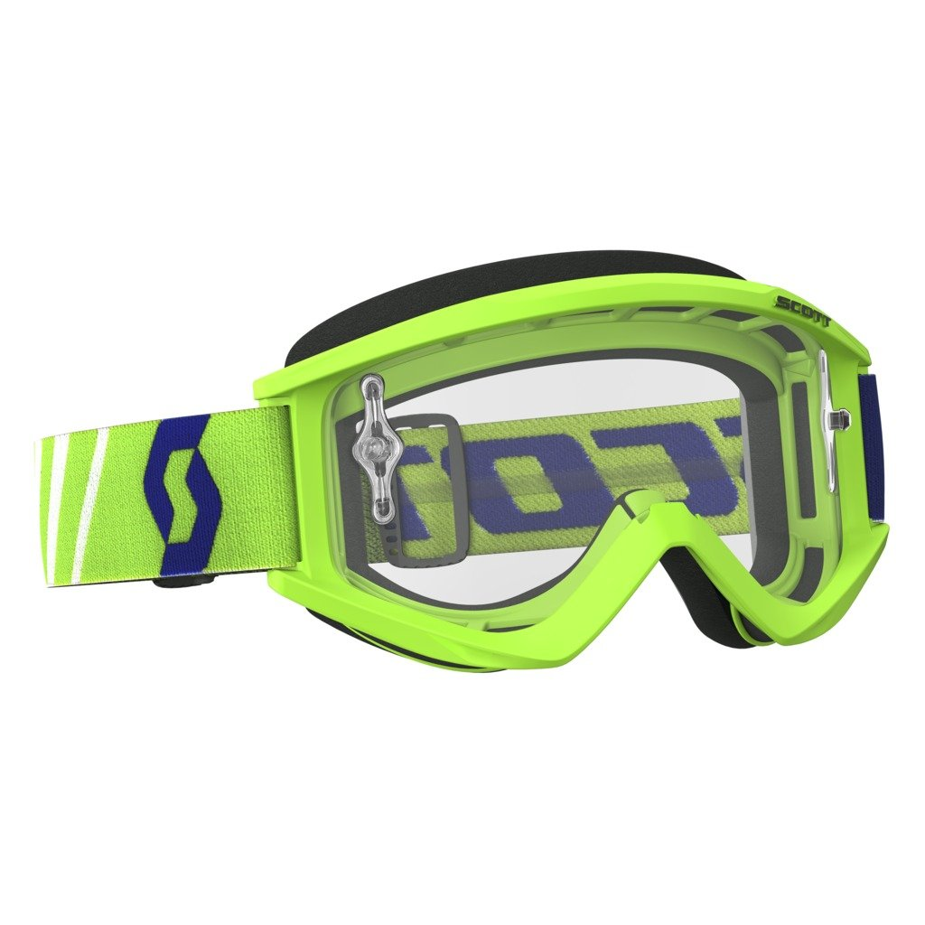 Scott Sports USA (246485-0006113) Unisex-Adult Recoil Xi Goggles (Green/ Clear Works, One Size)