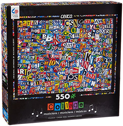 Ceaco Music Logo Collage Puzzle (550 Piece)