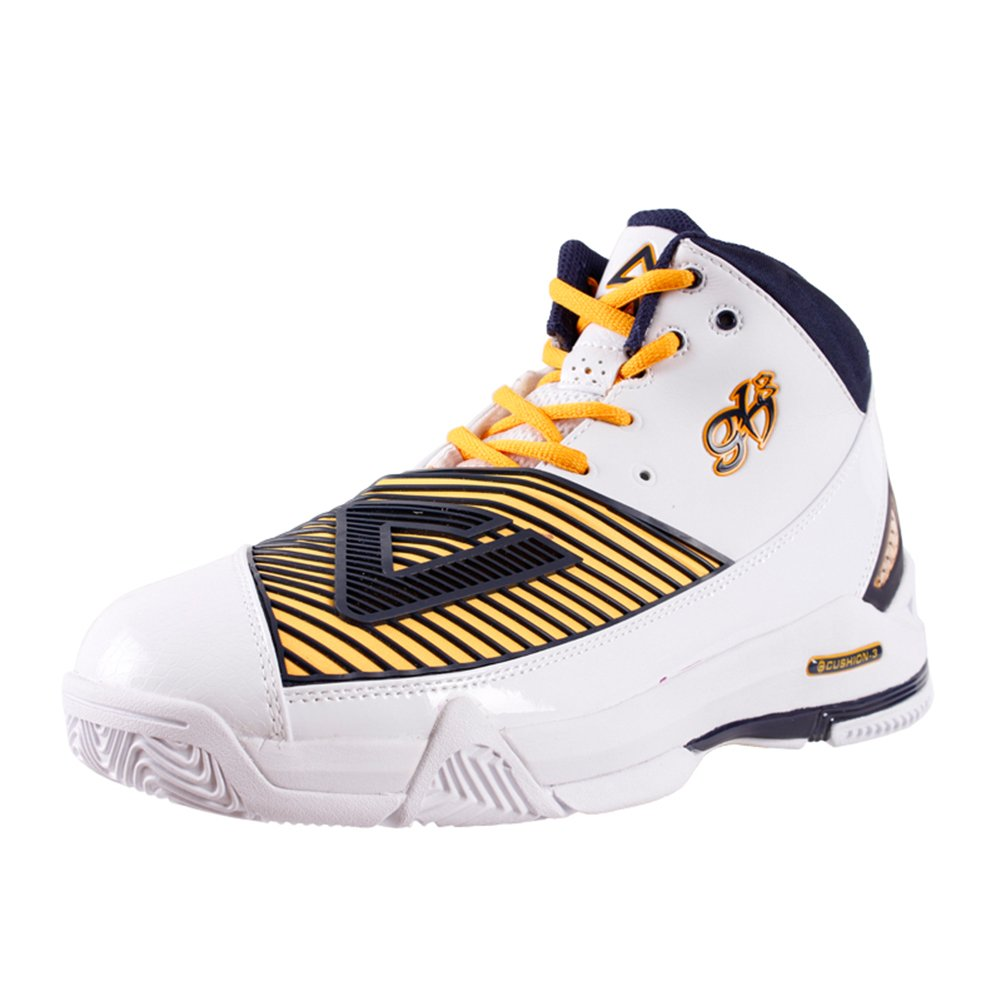 PEAK Men's NBA Player George Hill Basketball Shoe Fashion Sneakers B00KXROPL0 8 D(M) US|White/Navy