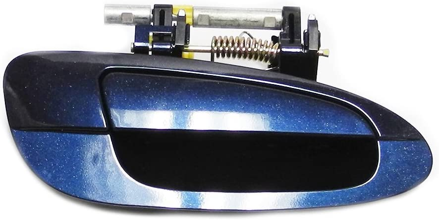 Amazon Com For Nissan 02 06 Altima Front Right Outside Outer Exterior Door Handle B3758 Bw9 Blue 02 03 04 05 06 Automotive