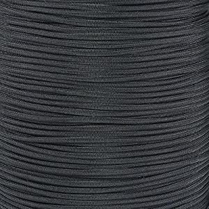 Paracord Planet Nylon 550lb Type III 7 Strand Paracord Made in the U.S.A.,50 Feet,Black