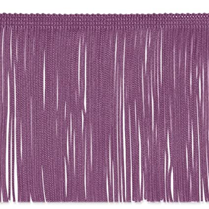 Expo International 20-Yard Chainette Fringe Trim Royal Blue 6-Inch