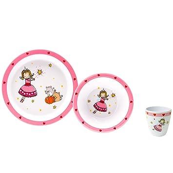Melamin Kindergeschirr Kinder Teller Geschirr Essgeschirr Trinkbecher Baby Set