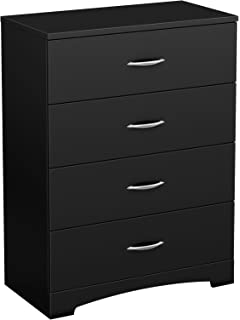 amazon com south shore libra collection 3 drawer chest black
